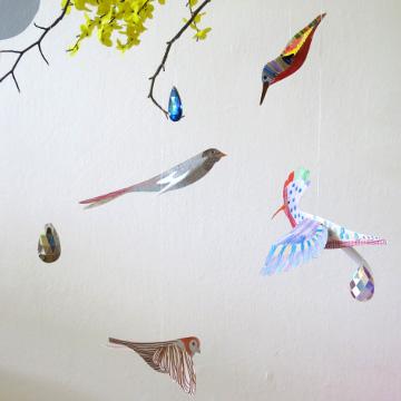 Omalovánky – ptáčci