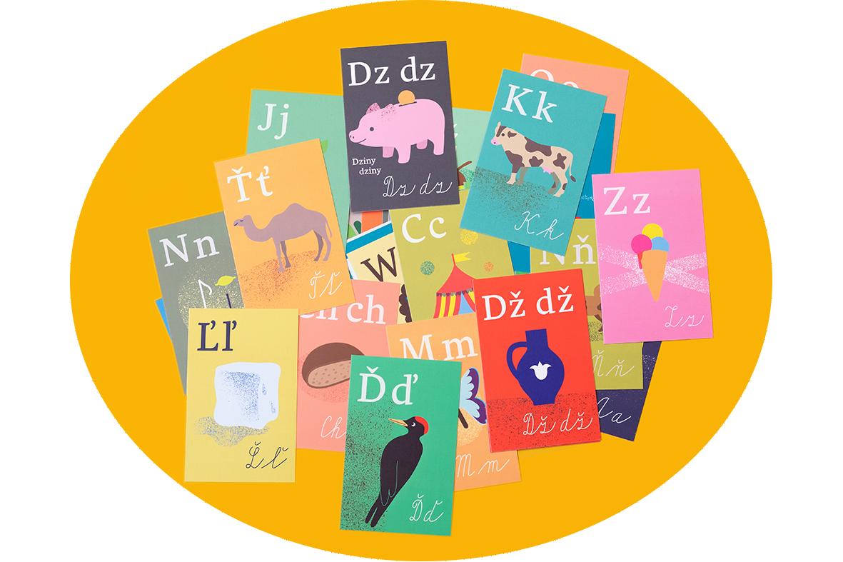 Tvoríme abecedu aj v slovenčine
