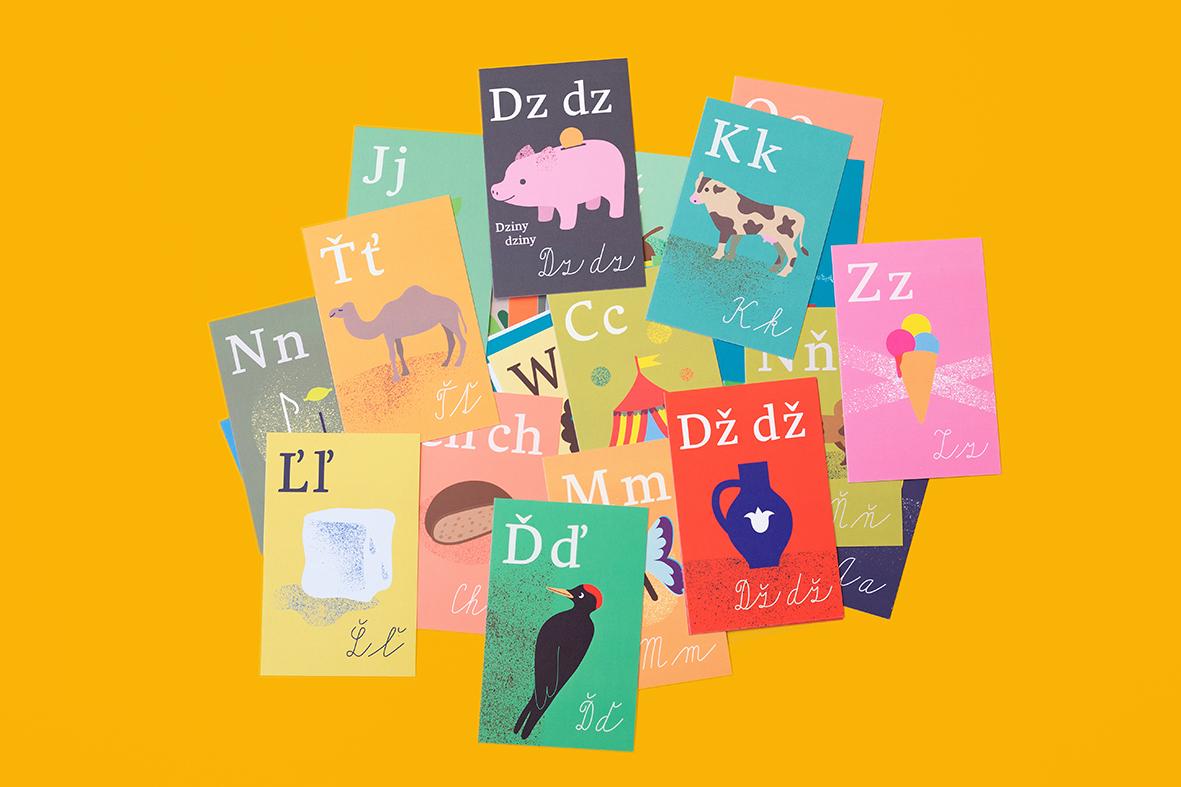Slovenská abeceda jako vzdělávací pomůcka nejen pro školáky